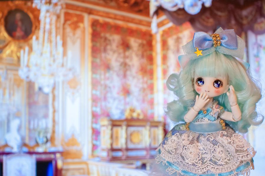 机上の世界旅行2―ベルサイユ宮殿
