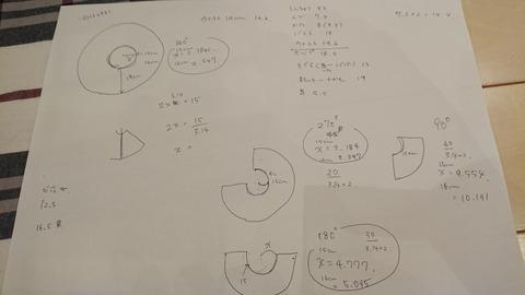 ドール道 1回目 -ワンピース作り 裁断編